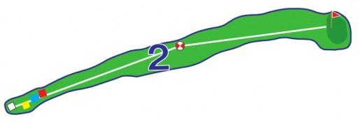 Chevreuils - Trou 2 - Plan