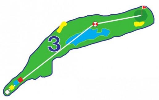 Chevreuils - Trou 3 - Plan