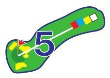 Chevreuils - Trou 5 - Plan