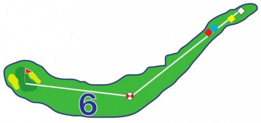 Chevreuils - Trou 6 - Plan