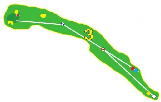 Sarcelles - Trou 3 - Plan
