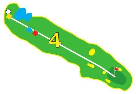 Sarcelles - Trou 4 - Plan