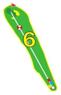 Sarcelles - Trou 6 - Plan