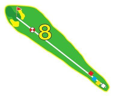 Sarcelles - Trou 8 - Plan