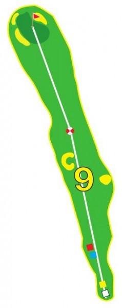 Sarcelles - Trou 9 - Plan